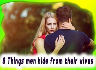 Things that men prefer to hide from their wives husband and wife men, man ,man hide, wives, husband to wife, love relationship, men and relationships, husband love
