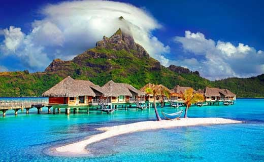Bora Bora Island, France 12 Breathtaking places you must visit before you die