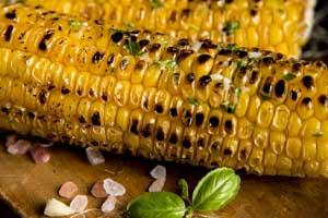 Corn on the cob, ear of corn