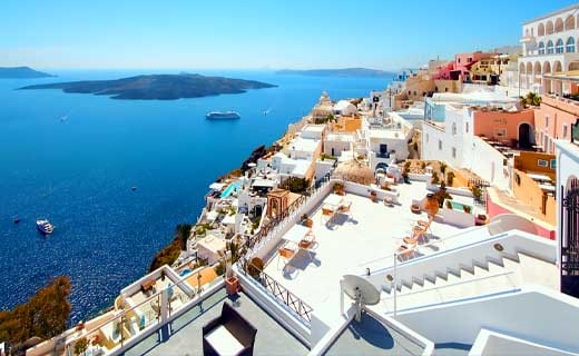 Santorini, Greece 12 Breathtaking places you must visit before you die