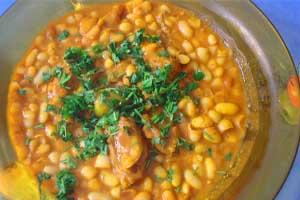 loubia Moroccan, moroccan cuisine recipes, Vegetarian food moroccan food near me
