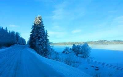 Norway, winter vacation