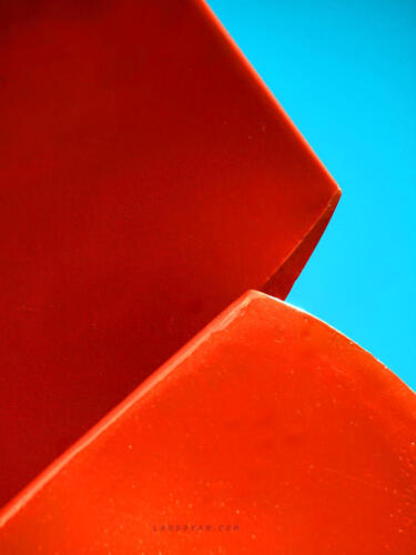 bold abstract shapes color-red-blue